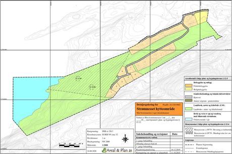 Reguleringsplan Strømnesset hytteområde vedtatt av Hitra kommunestyre