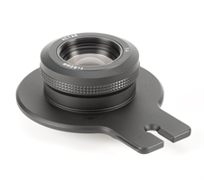Lensplate with Cambo 80mm Lens (black finish)