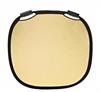 Reflector Gold/White L (120cm/47