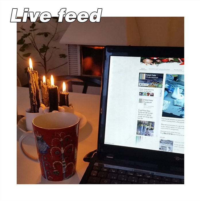 First Live Feed Ever!