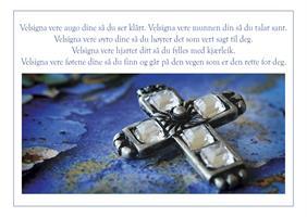 Håndlaget kort - Keltisk velsignelse