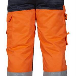 Vinterbyxa orange/marin XXL