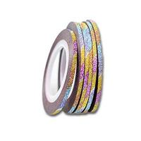 KN- Glitter Stripe Rainbow