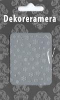 DM- Sticker Snowflake silver