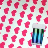 DM- Folie #68 Pink Hearts