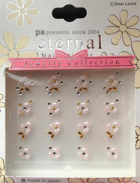 DL- Sticker Jewel pink rose