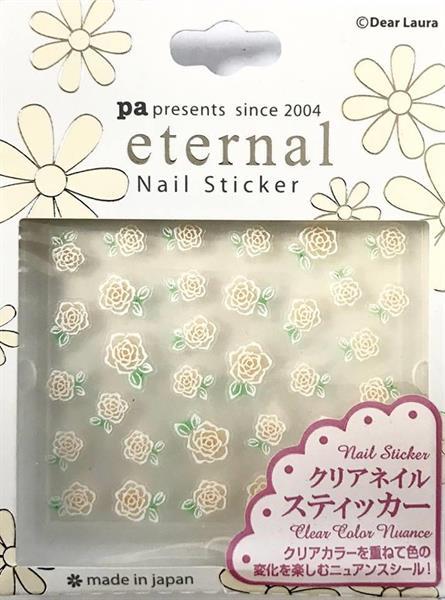 DL- Sticker Flower white rose