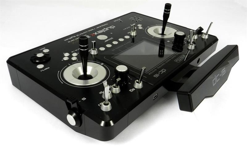 TransmitterDuplex DC-16 II. - Musta