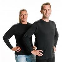 T-shirt Långärmad Svart Xsmall