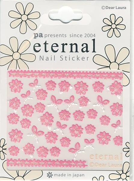 DL- PA Sticker Pink Flower