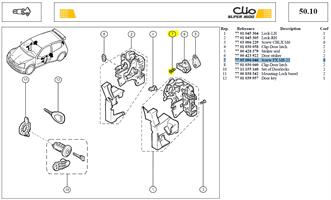 VIS FRAI+TORX 8X125 LG:20CL:8 - Screw FX M8-25