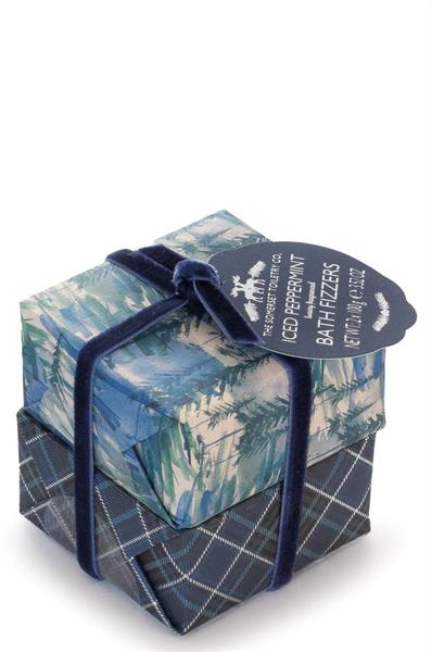 """NEW"" Bath Fizzers Set Iced Pepeprmint 2 X 100g"