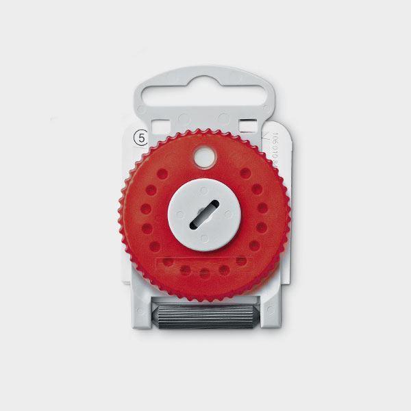 HF4 Filter Rød/H på hjul