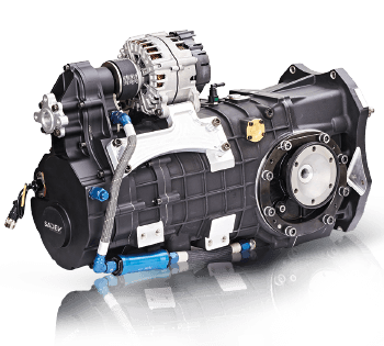 6 speed SL90-23 rally-raid gearbox without bell housing