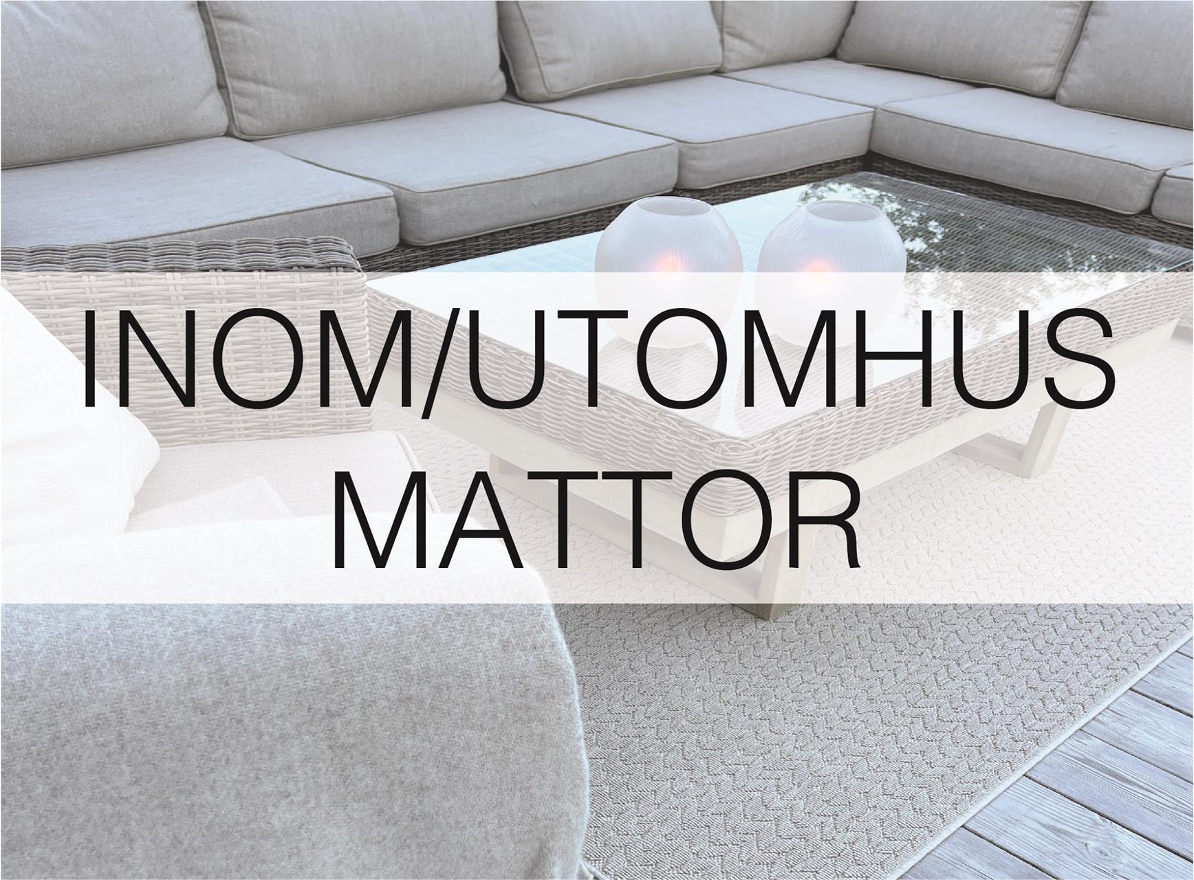 Inomhus/utomhus mattor