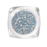KN- Jar glitter LIGHT BLUE