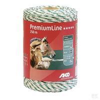 Eltråd 3mm PremiumLine 250 mtr vit/grön