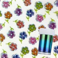 DM- Folie # 24 Flower Multi