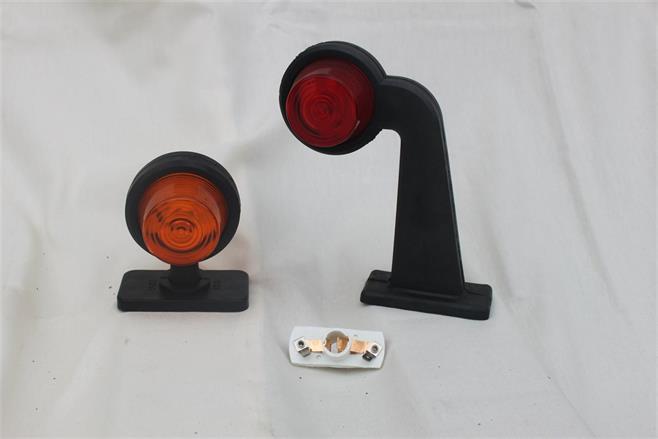Lamphållare, Glas och Sidomarkeringsarm
