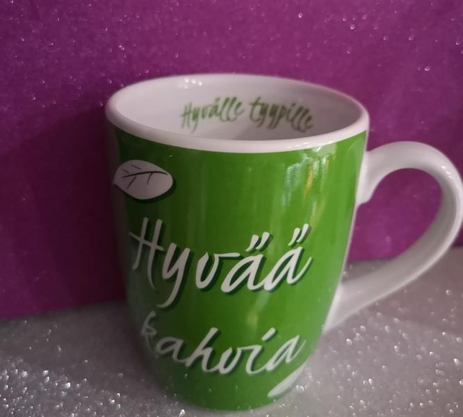 Hyvää kahvia muki