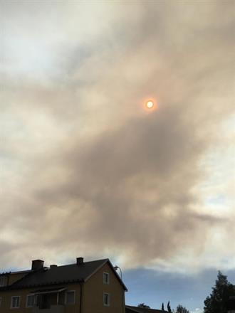Skogsbränderna som härjade förmörkade självklart även vår glädje över turnén