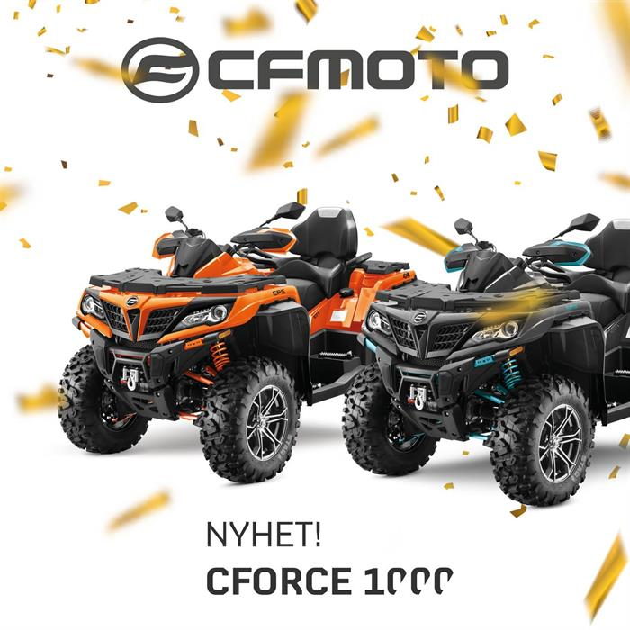 NYHET! C-Force 1000