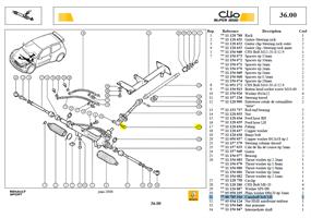 VIS DIRECTION - Steering rack bolt