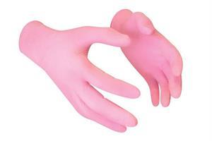 KN- Nitrile glove PINK Large