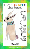 A6 Clear stamp set Bunny