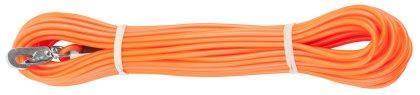 Spårlina gjuten 4mm orange 15m