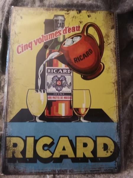 Ricard 45, peltitaulu