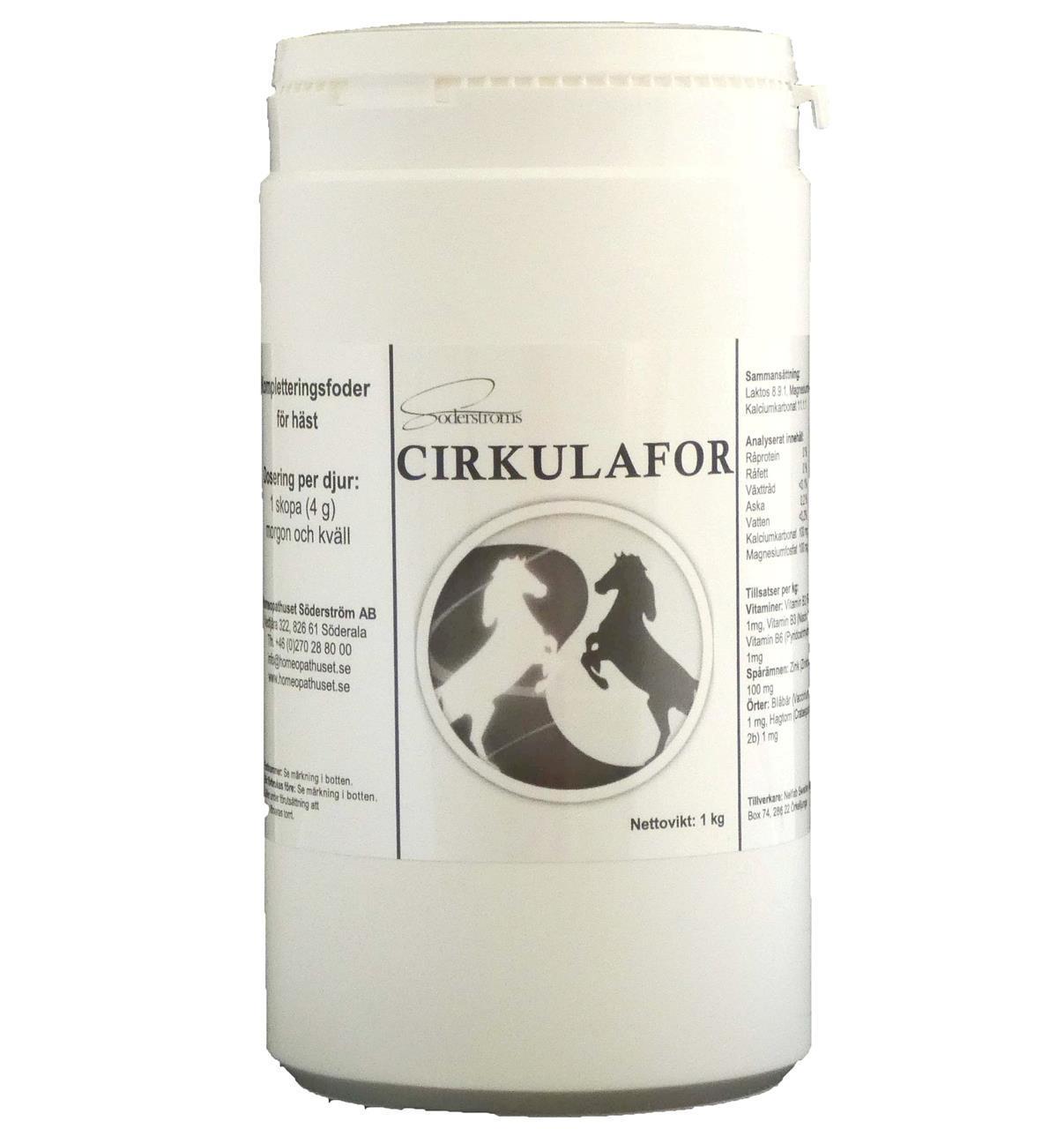 Cirkulafor 1 kg 30% rabatt