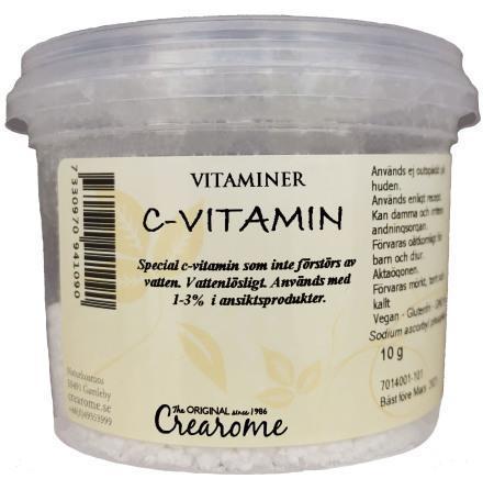 C-vitamin vattenlöslig