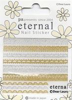 DL- PA Sticker Gold & Silver Lace