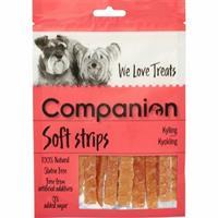 Companion Soft Strips Kanin 80g