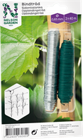 Bindtråd galvad grön 2*40m