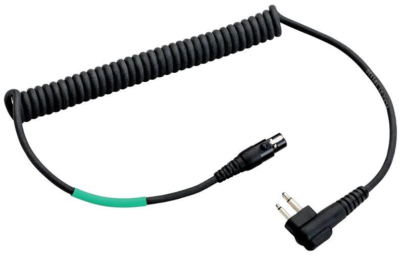 Cable headsets to radio