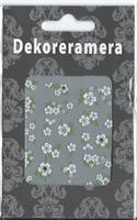 DM- Sticker white & green