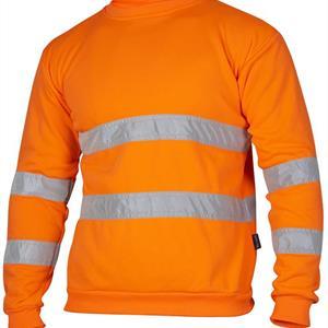 Sweatshirt Varsel gul M