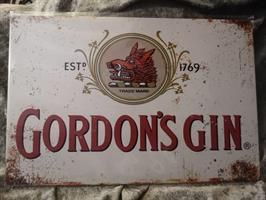 Gordons gin, peltitaulu