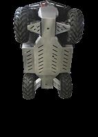 Bukbeskyttelse C FORCE 450 Lang, Aluminium