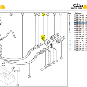 COLLIER 21D40 - Clamp