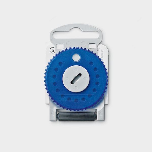 HF4 Filter Blå/V på hjul