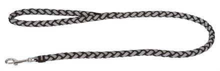 Hundkoppel Maxi Safe Reflex/Svart 12mmx100cm -