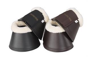 Boots Med Päls Svart/Creme Small