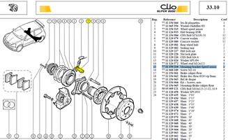SUPPORT DE CAPTEUR - Mounting bracket speed sensor