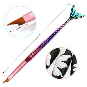 BL- Mermaid Nailart brush #3
