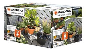 city gardening Semesterbevattning