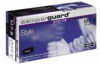 Handske Svart Nitril  S M L XL 100st