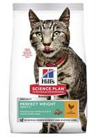 Hills Katt Adult Perfect Weight Chicken 1,5kg